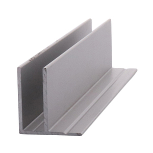 CRL D1675A Satin Anodized Fixed Glass Frame