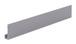 "CRL D18A Satin Anodized Aluminum 1/8"" ""J"" Channel - 144"" Stock Length"