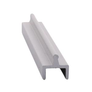 CRL D601A Satin Anodized Aluminum Single Bottom Rail