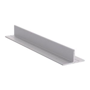 CRL D608A Satin Anodized T-Bar Aluminum Channel