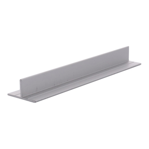 "CRL D608A Satin Anodized T-Bar Aluminum Channel - 144"" Stock Length"