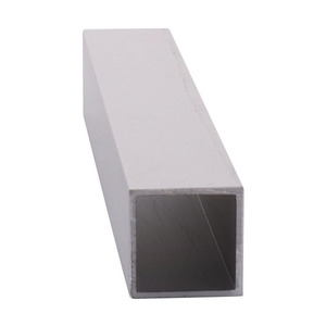 """CRL D70A Satin Anodized 3/4"""" Square Tube Extrusion"""