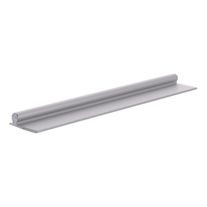 "CRL PLD1659 Aluminum 96"" Sliding Glass Door Replacement Rail"