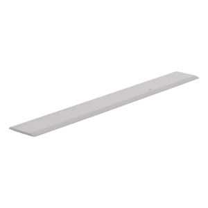 "CRL S625A Satin Anodized Aluminum 5/8"" Flat Face Mirror Edge Molding - 144"" Stock Length"