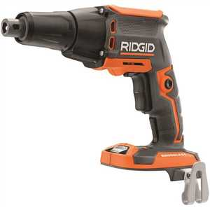 Techtronic Industries Co. R86630B RIDGID 18-Volt Cordless Brushless Drywall Screwdriver with Collated Attachment (Tool-Only)