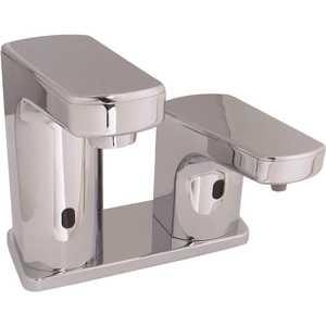 Speakman SFC-8790 Sensorflo Low Arc Sensor Single Hole Touchless Bathroom Faucet and Soap Combination in Polished Chrome
