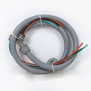Packard PW1206 1/2 in. x 6 in. Whip with Non-Metallic fitting for A/C or Heat Pumps