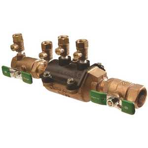 Zurn 34-350XLFT 3/4 in. Double Check Lead-Free Composite Vessel Fast Test Cocks Valve Assembly