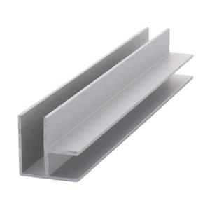 """CRL D7201A Satin Anodized Aluminum Corner Extrusion - 144"""" Stock Length"""