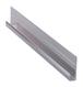 """CRL D18BA Brite Anodized Aluminum 1/8"""" J-Channel - 144"""" Stock Length"""