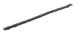 "CRL Z78137C Zipper Pile Weatherstrip .187"" Backing - .160"" Pile Height - 100' Roll"