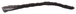 "CRL Z78317C Zipper Pile Weatherstrip .270"" Backing - .300"" Pile Height - 100' Roll"
