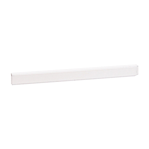 "CRL D720 Clear 1/4"" Plastic Edge Molding - 144"" Stock Length"
