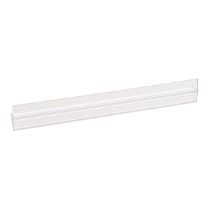 "CRL P140HJ Polycarbonate H-Jamb 180 Degree for 1/4"" Glass - 95"" Stock Length"