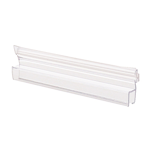"CRL P180SDJ Polycarbonate Strike and Door H-Jamb with Vinyl Insert 180 Degree for 3/8"" Glass"