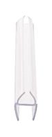 """CRL P375HWS Soft Fin 'H' Wipe for 3/8"""" Glass - 95"""" Stock Length"""