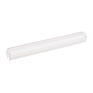 "Soft Fin 'H' Wipe for 3/8"" Glass - 95"" Stock Length"
