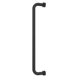 "CRL BM240RB Oil Rubbed Bronze 24"" BM Series Tubular Single-Sided Towel Bar"