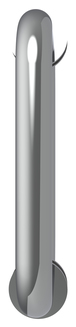 "CRL BM6X6CH Polished Chrome 6"" BM Series Tubular Back-to-Back Pull Handle"