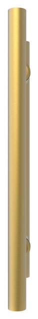 "CRL LP8X8SB Satin Brass 8"" Ladder Style Back-to-Back Pull Handles"