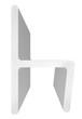 "CRL P380HJ Polycarbonate H-Jamb 180 Degree for 3/8"" Glass - 95"" Stock Length"