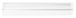 """CRL P990WS Clear Co-Extruded Bottom Wipe with Drip Rail for 3/8"""" Glass - 95"""" Stock Length"""