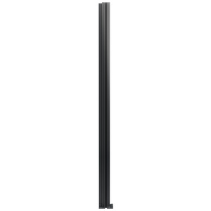"CRL D990A30CR Satin Anodized 30"" Corner Design Series Partition Post"
