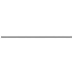 """CRL EP13G Gray Plastic Track for 1/2"""" Sliding Panels"""