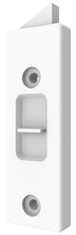 Brixwell 85-618WA White Fiberlux 85 Series Tilt Latch