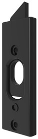 "Brixwell 900-11615B 3-3/8"" (L) x 1-3/16"" (W) 85 Series Tilt Latch Plastic Reversible Black"