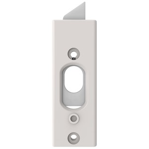 "Brixwell 900-11615W 3-3/8"" (L) x 1-3/16"" (W) 85 Series Tilt Latch Plastic Reversible White"