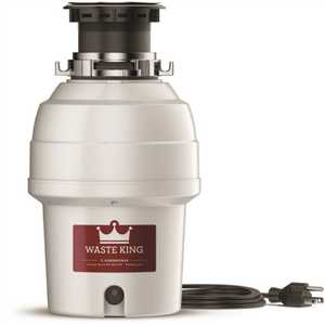 Waste King L-3200 Legend Series 3/4 HP Continuous Feed Sound-Insulated Garbage Disposal