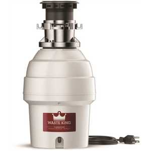 Waste King L-5000TC Legend 3/4 HP Batch Feed EZ Mount Garbage Disposal