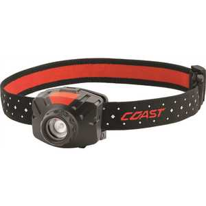 COAST FL60R FL60R 450 Lumens Rechargeable LED Headlamp, Accessories Included