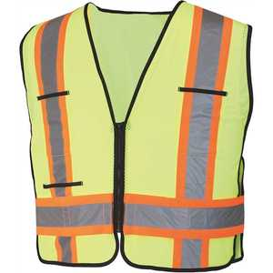 HDX HDX46600-O High-Visibility 2-Tone Reflective Safety Vest