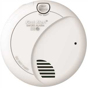BRK Brands 7010B6CP Hardwired Smoke Alarm with Battery Backup, Contractor - pack of 6