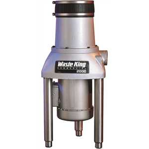 Waste King 2000-3 2 HP Continuous Feed Garbage Disposal