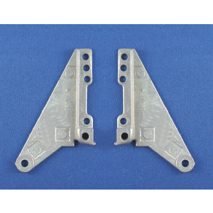 Small Metal Vent Hinge 1 Pair Per Card retail Package