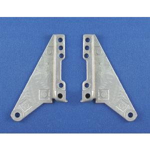 Small Metal Vent Hinge 1 Pair Per Polybag
