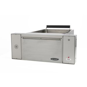 """Quikserv QSP-9157 Drive Up Large Transaction Drawer Manual Without Speaker 28-1/2"""" W x 11-1/2"""" H Stainless Steel"""