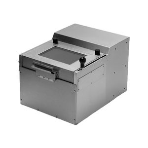 """Quikserv QSB-9153 Bulk Security Drawer To Transfers Large and Smaller Items Without Speaker 18""""W x 15-1/2""""H Stainless Steel"""
