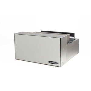 """Quikserv QST-9134 Transaction Drawer With Dual Trays for Large and Smaller Items Without Speaker 18-3/4"""" L x 18"""" W x 9-5/8"""" H Stainless Steel"""