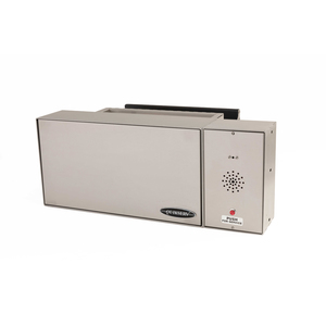 """Quikserv QST-9135 Transaction Drawer With Dual Trays for Large and Smaller Items With Speaker 18-3/4"""" L x 18"""" W x 9-5/8"""" H Stainless Steel"""