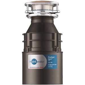 Badger 5XP 3/4 HP Continuous Feed Disposer