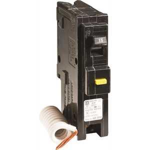 Square D HOM115GFICP Homeline 15 Amp Single-Pole GFCI Circuit Breaker