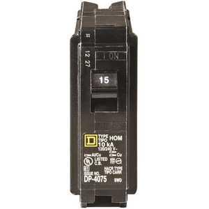 Square D HOM115CP Homeline 15 Amp Single-Pole Circuit Breaker