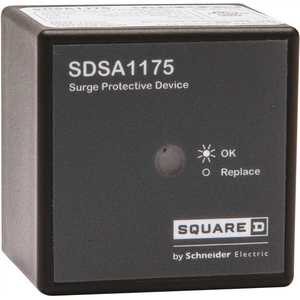 Square D SDSA1175 36 kA Single Phase Panel Mounted Type 1 Surge Protective Device - Box Packaging