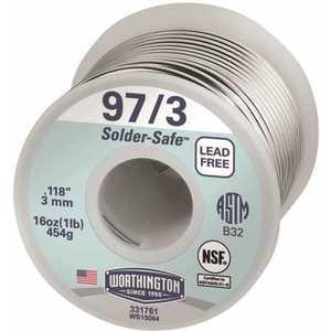 Worthington 331761 16 oz. 97/3 Lead-Free Solder