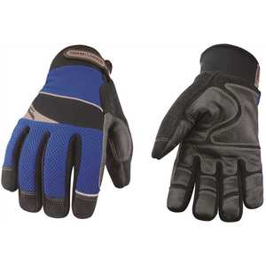 YOUNGSTOWN GLOVE COMPANY 08-3085-80-L Large Waterproof Winter Gloves Lined with Kevlar