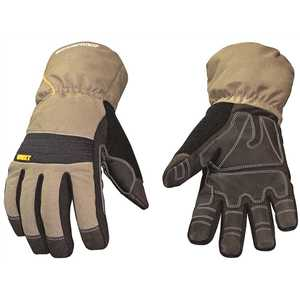 YOUNGSTOWN GLOVE COMPANY 11-3460-60-L Large Waterproof Winter Xt Insulated Gloves with Extended Gauntlet Cuffs